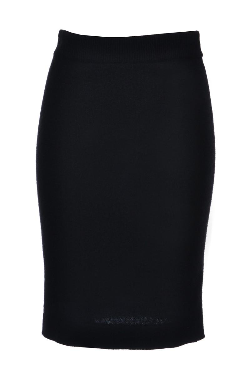 166d6ee005bf Chanel Boutique   Eleganter Strickrock aus reinem Cashmere, Gr. S ...