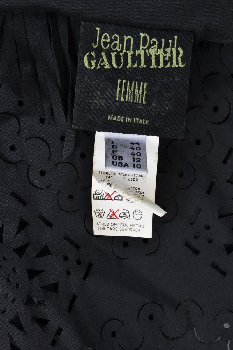 Tissu Jean Paul Gaultier jean paul gaultier | pencil skirt mit scherenschnitt-muster