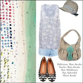 splendid, mühlbauer hut, ksubi jeans, marc jacobs tasche, michael kors ballerinas, vintage style, beach