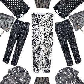 Maria Cornejo, Haider Ackermann, Sonia Rykiel, Yves Saint Laurent dress, pants, vintage, secondhand, onlineshop
