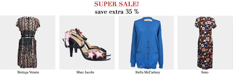 Super Sale, Designer, Bottega Veneta, Marc Jacobs, Stella mccartney, uno, MyMint Online Shop for Secondhand & Vintage Designer- Clothes, Shoes, Bags and Accessories. Shop Now! Up to -90%