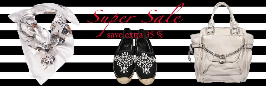 super sale, Chloe, Rene caovilla, Hermés, secondhand, Ausverkauf
